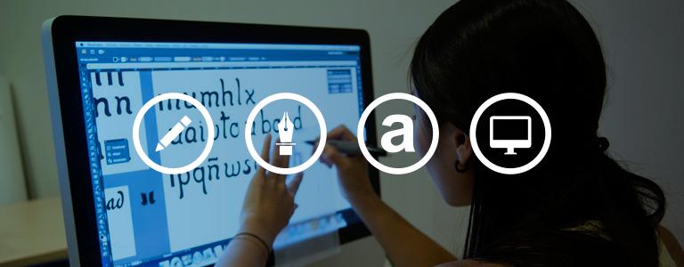 Curso de Tipografía con Fontlab