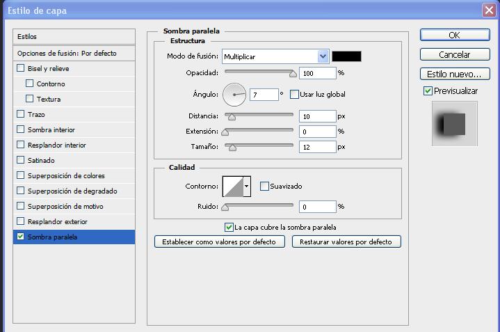 Tutorial Photoshop CS6:Crear una sombra de manera profesional