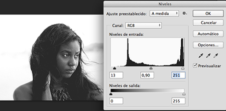 tutorial photoshop efecto doble exposición